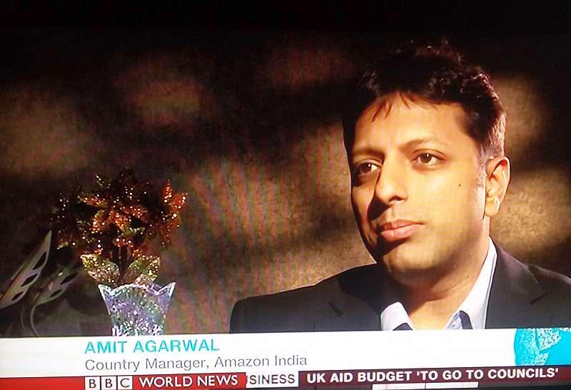 Amit Agarwal w wywiadzie dla BBC World