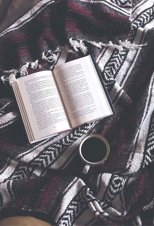 Good book, warm blanket, hot tea... I love autumn