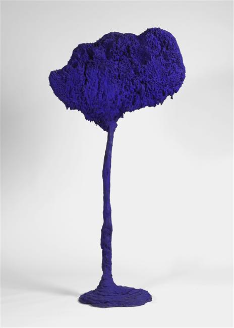 Yves Klein, Arbre grande éponge bleue, 1962