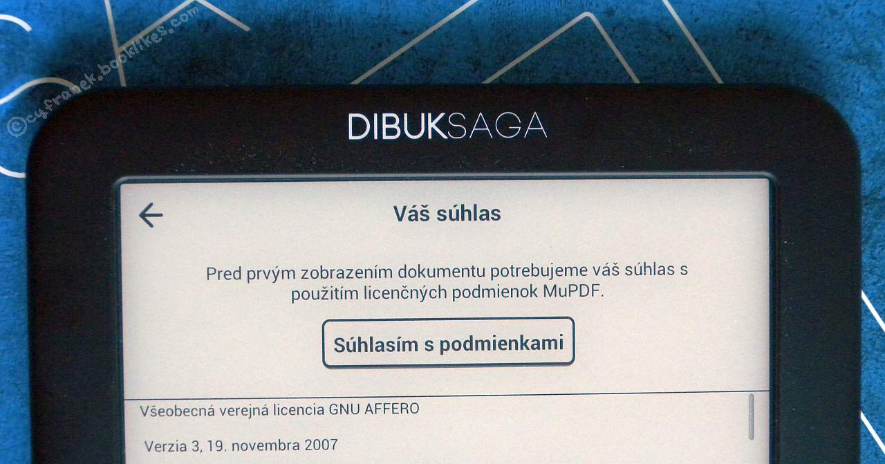 Dibuk Saga - czytnik plików PDF