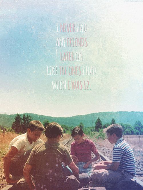 measure of true friendship in the film stand by me by rob reiner