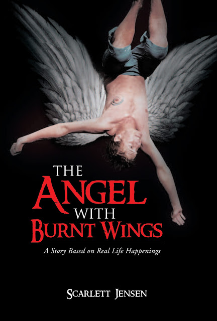 The Angel with Burnt Wings by Scarlett Jensen