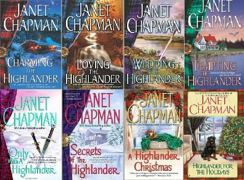 What a Great Series to read Janet Chapman Time traveling Highlanders !