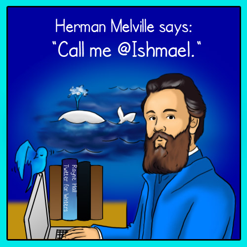 If Herman Melville used Twitter... ;-)