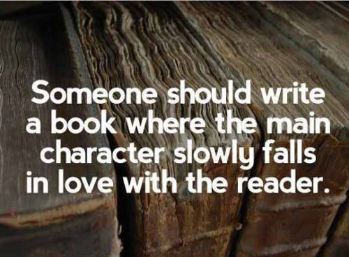 It would be the greatest sad love story ever.... AND I WANNA READ IT!!!