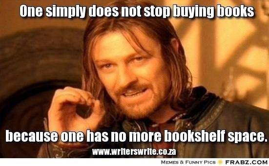 LOTR Boromir book collecting meme