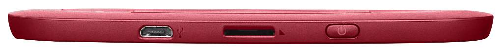 PocketBook Touch Lux 3 Ruby Red od spodu