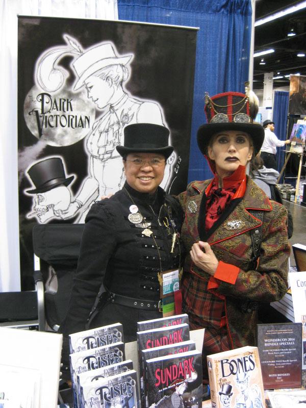 Me and the Baron (Veronique Chevalier) at Wondercon 2014
