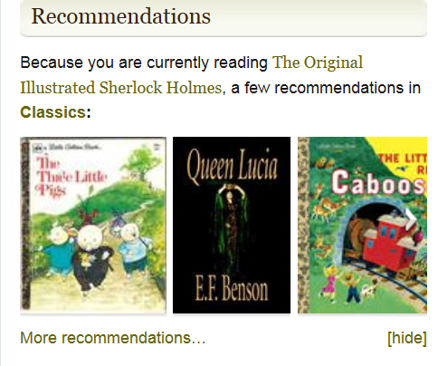 Recommendations gone wild