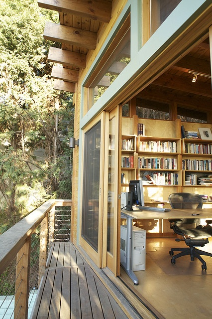 I can dig having a writing office like this :)