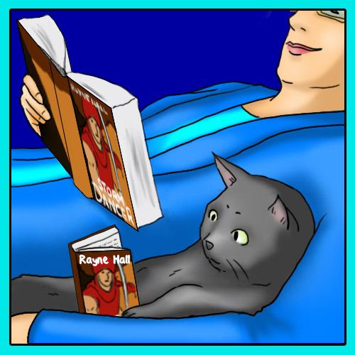 Reading pleasures.