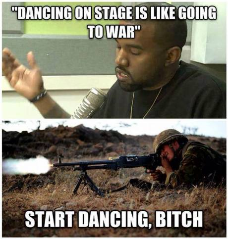 "I have decided that it's ""Shut-up Kanye Wednesday"""