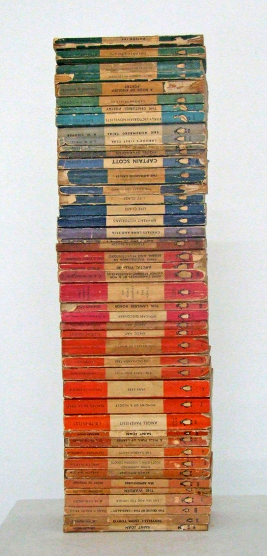 Love the colors of these Penguin books!