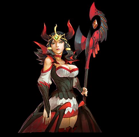 Goddess of war hero game online joywar for Maitresse lilith
