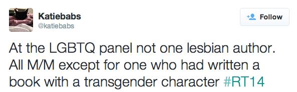 LGBTQ panel at RT14 1