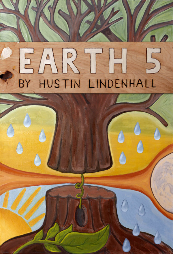 Earth 5 - the new book by Hustin Lindenhall