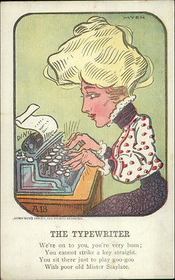 A Short Look at Typewriter History. NO, Really! In A NutShell.