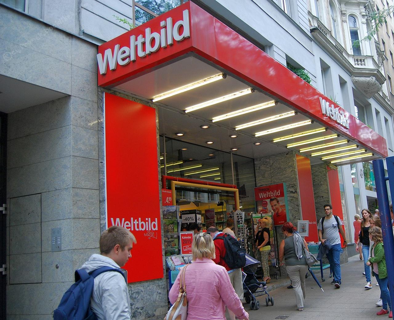 Weltbild bookshop in Wien