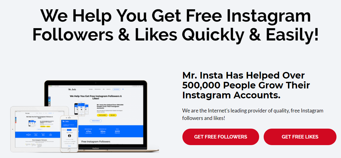 Free Instagram Followers Program - Instagenerator online
