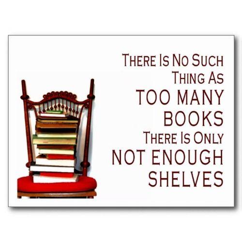 Not enough shelves