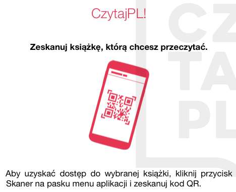 Aplikacja CzytajPL! skanuje kody QR