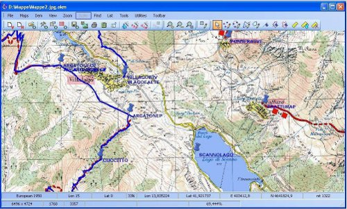 GPS Mapping Software