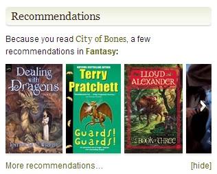 "I never shelved City of Bones ""Fantasy""!!"