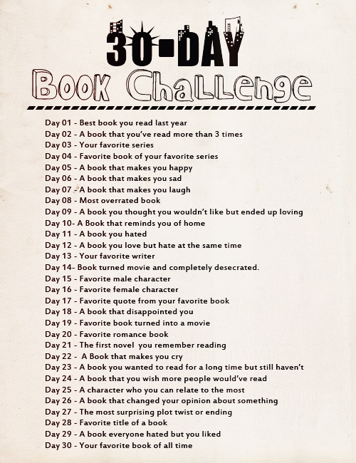 30 Day Book Writing Challenge With The 30 Day Challenge