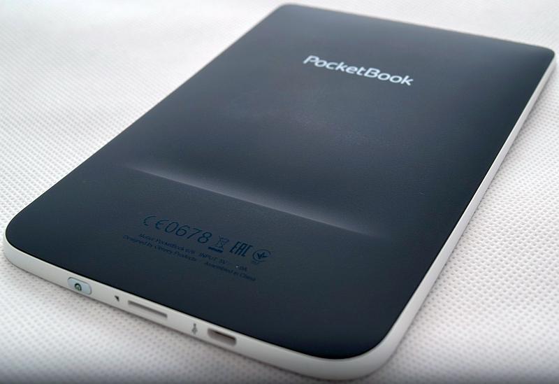 Spód czytnika PocketBook Touch Lux 2