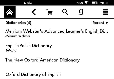 Słownik BuMato, najlepszy z bezpłatnych na Kindle