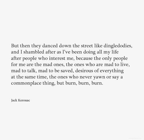 Creativity and self-destruction
