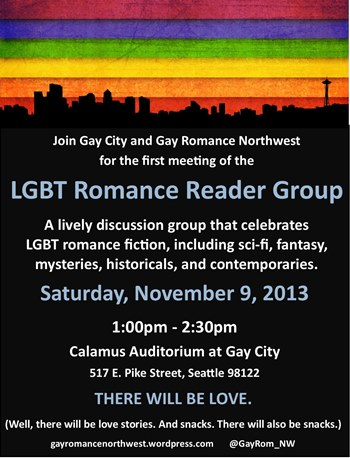 Seattle LGBT Romance Reader Meeting - 11/9/13