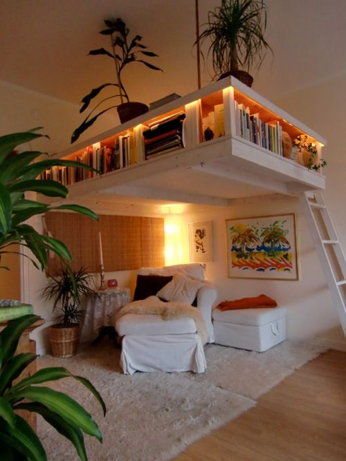 Now that's a reading nook...