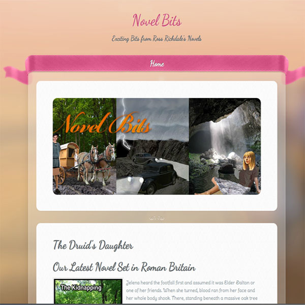 Introducing our new webpage www.novel bits.com