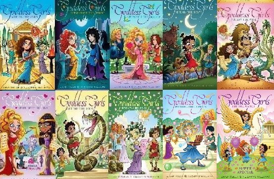 Tag Goddess Girls Series Booklikes