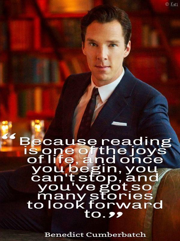 Benedict Cumberbatch on Reading!