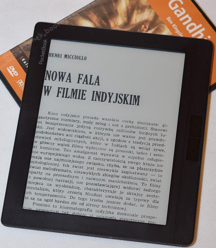 PocketBook InkPad 2 - otwarty plik DJVU