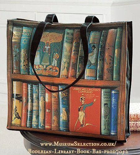 book bag, Bodleian Library Store, University of Oxford