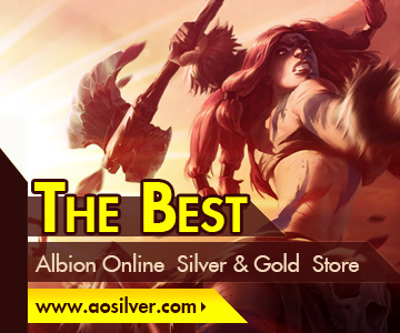 Why buy albion online silver and gold from AOSilver.com