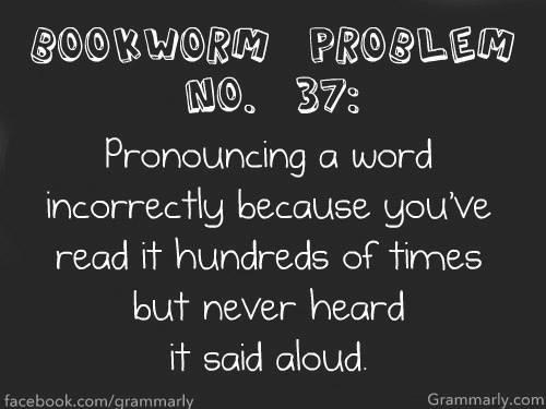 """pronouncing a word"" bookworm meme"