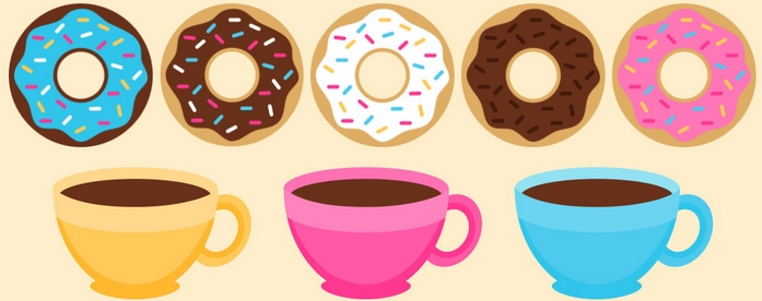 Fat Thursday: Donut & Coffee