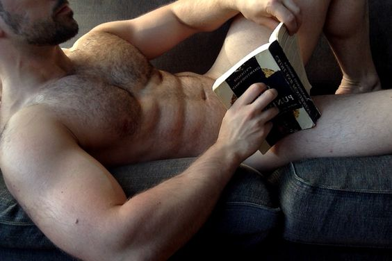 Hot Dudes Reading, #5