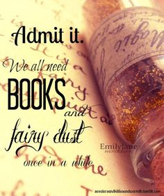 Fairy Dust. Books.