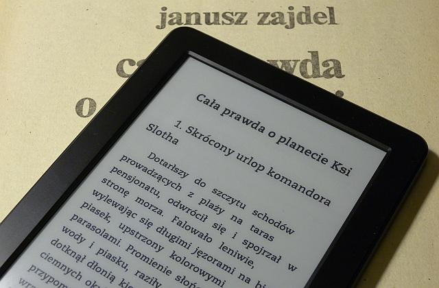 Kindle 7 i Janusz A. Zajdel