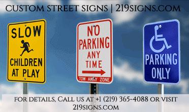 Custom Street Signs | 219signs.com