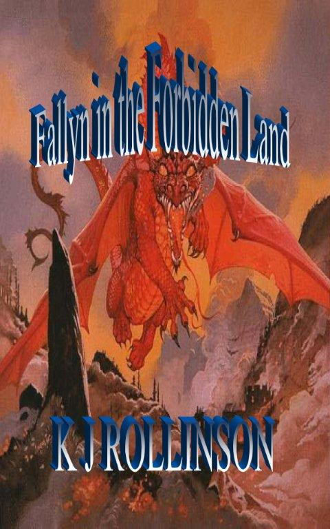 The front cover of the second book in the'Fallyn' trilogy.