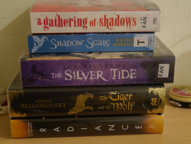 My current library book haul!