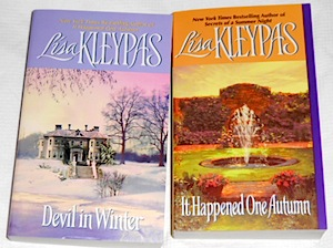 devil in winter and it happened one autumn by lisa kleypas mass market paperbacks