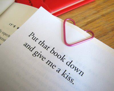 Put the book down...