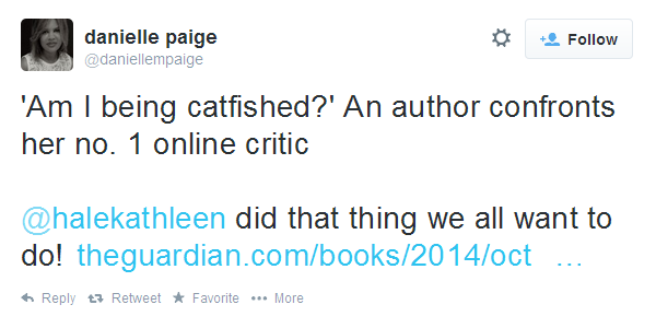 Another author being a reckless idiot
